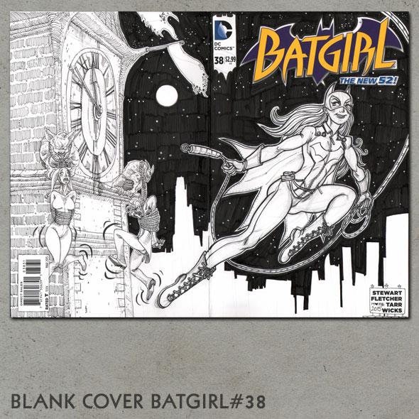 BLANK COVER BATGIRL#38
